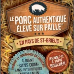 affiche porc authentique